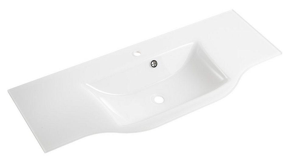 pelipal glas waschbecken waschtisch contea breite 128 cm online kaufen otto. Black Bedroom Furniture Sets. Home Design Ideas