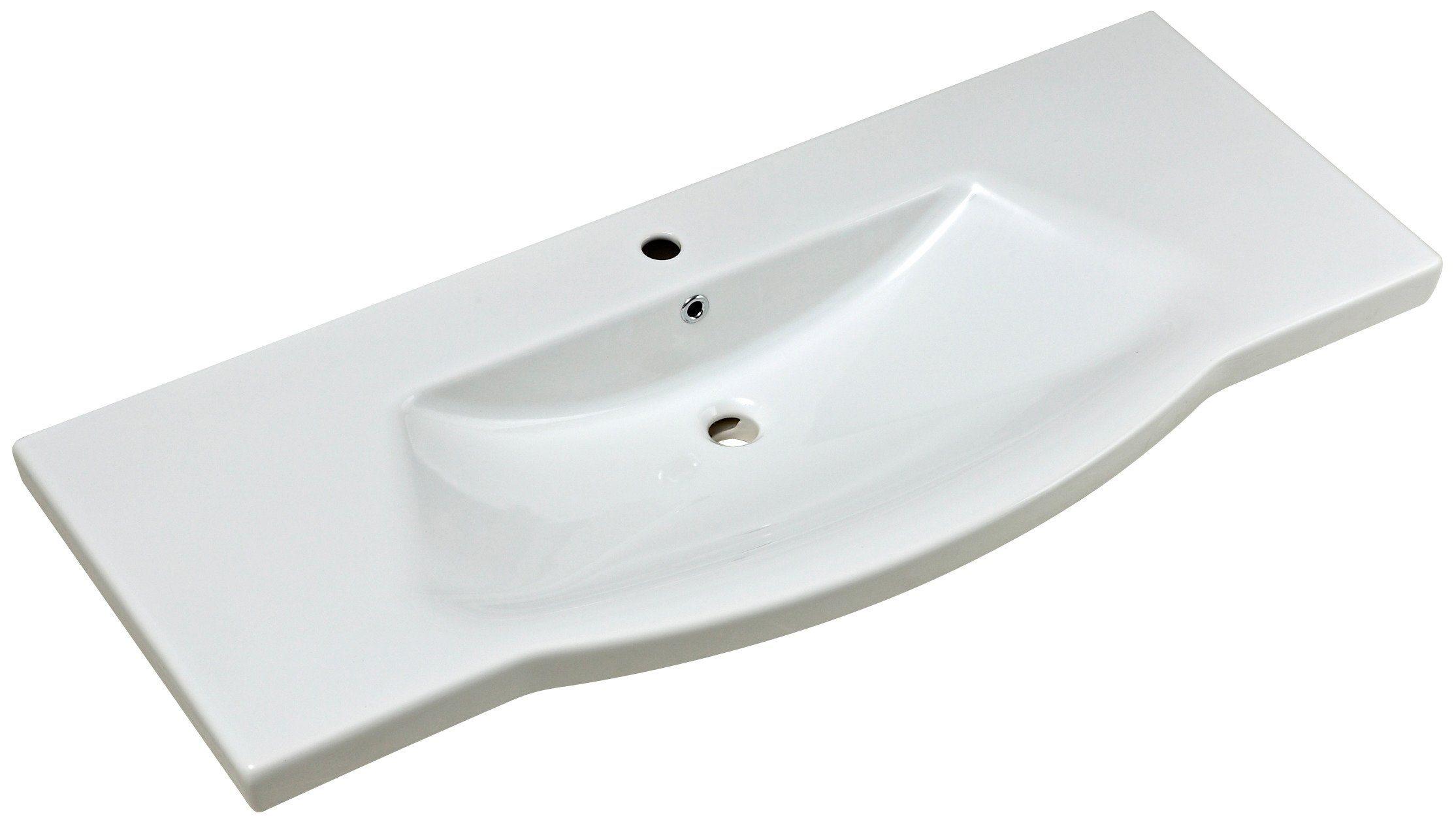 Pelipal Keramik Waschtisch / Waschbecken »Solitaire« Breite 120 cm