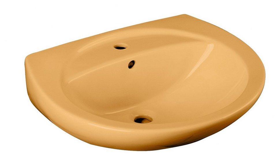 Keramik Waschtisch / Waschbecken 60,5 cm