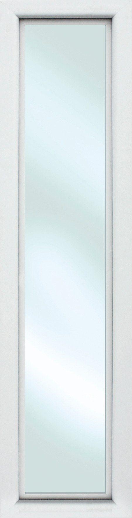KM MEETH ZAUN GMBH Seitenteile »S01«, für Alu-Haustür, BxH: 60x198 cm, weiß