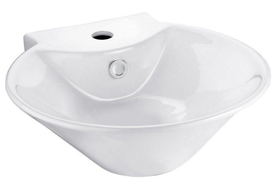 Keramik Waschtisch / Waschbecken »Sines« 45 cm