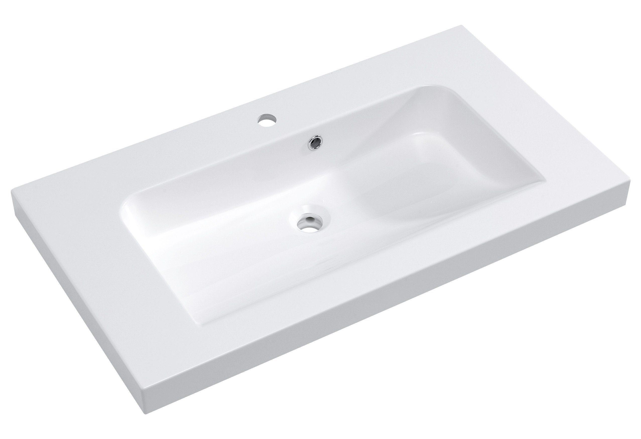 Pelipal Mineralguss Waschtisch / Waschbecken »Balto« Breite 91 cm
