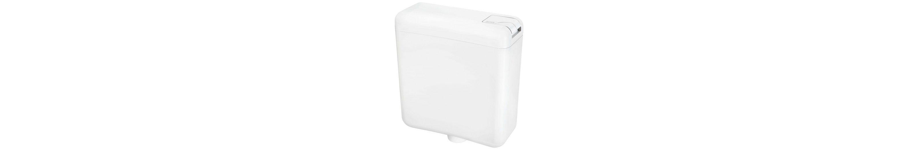 WC-Spülkasten, weiß