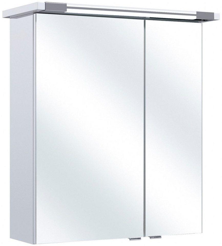 Spiegelschrank »Seo« Breite 60 cm, mit Beleuchtung in weiß