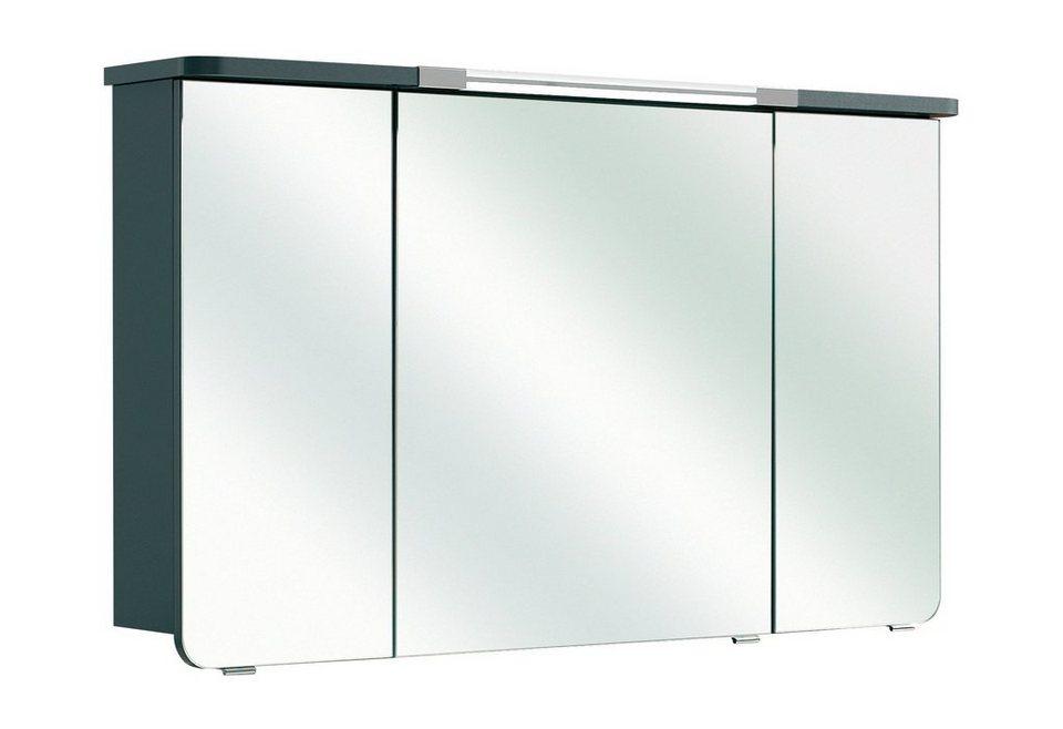 Pelipal Spiegelschrank »Cassca« Breite 122cm, mit Beleuchtung in anthrazit