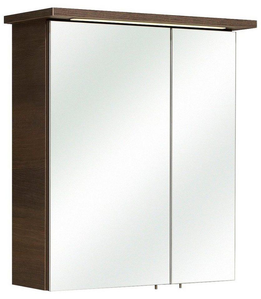 Pelipal Spiegelschrank »Mara« Breite 60 cm, mit Beleuchtung in mokka