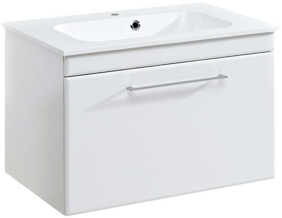 Waschtisch »Seo«, (2-tlg.), Breite 77 cm in weiß