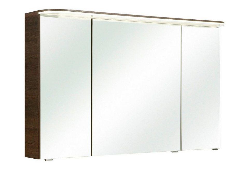 Spiegelschrank »Balto«, Breite 120 cm in mokka