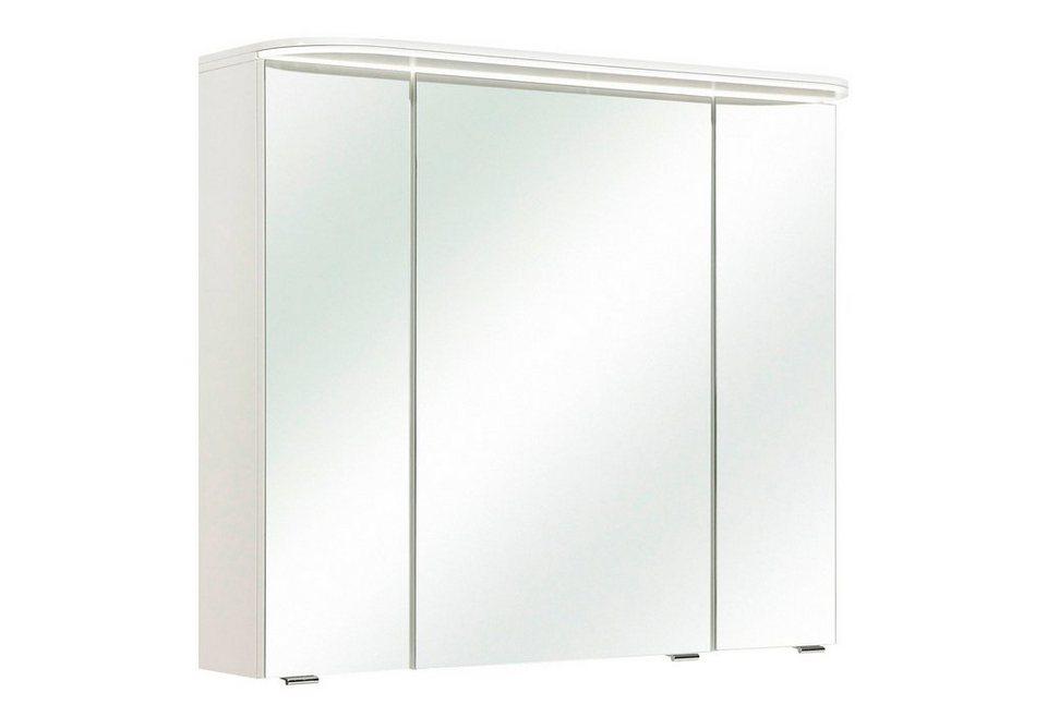 Spiegelschrank »Balto« Breite 85 cm, mit LED-Beleuchtung in weiß
