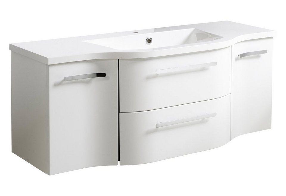 Waschbeckenunterschrank »Contea«, Breite 126 cm in weiß