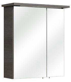 Spiegelschrank »Alika« Breite 60 cm, mit Beleuchtung in graphitfarben