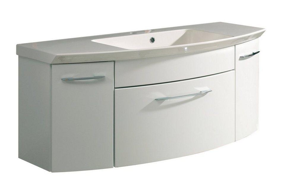 Pelipal Waschbeckenunterschrank »Cassca« 120 cm in weiß