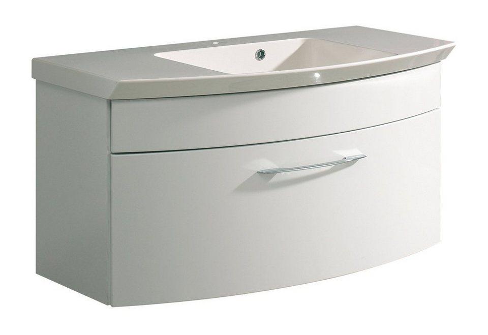 Waschbeckenunterschrank »Cassca«, Breite 99 cm in weiß