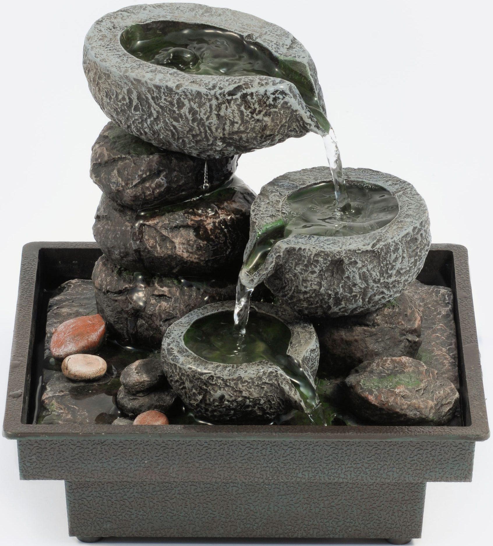 Zimmerbrunnen »Floating Stones«