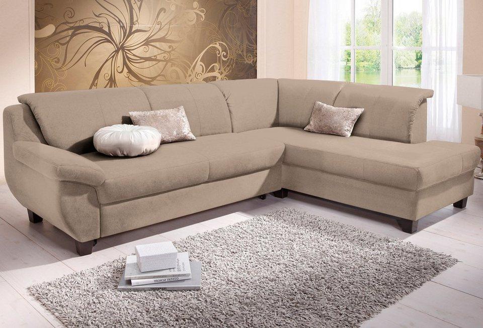 home affaire ecksofa yesterday wahlweise mit bettfunktion online kaufen otto. Black Bedroom Furniture Sets. Home Design Ideas