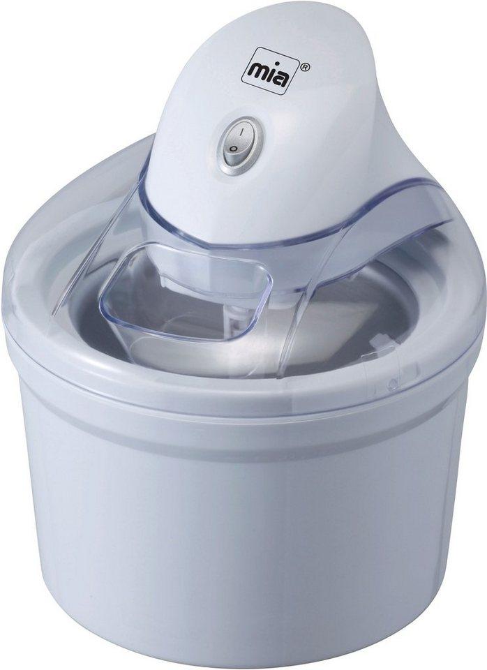 Mia Eismaschine/Multi-/Haushaltskühler 3-in-1, »IC 9963«, für 1,2 Liter in Weiß