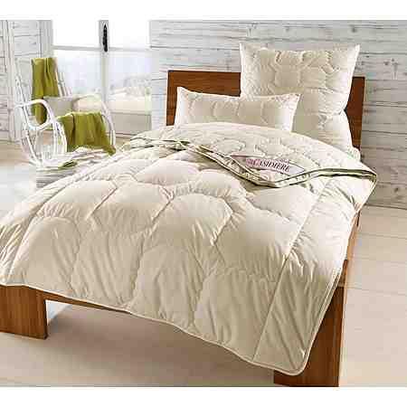 Kaschmir-Bettdecken sind sehr feine und leichte Bettdecken, sie passen sich ideal jeder Temperatur an.