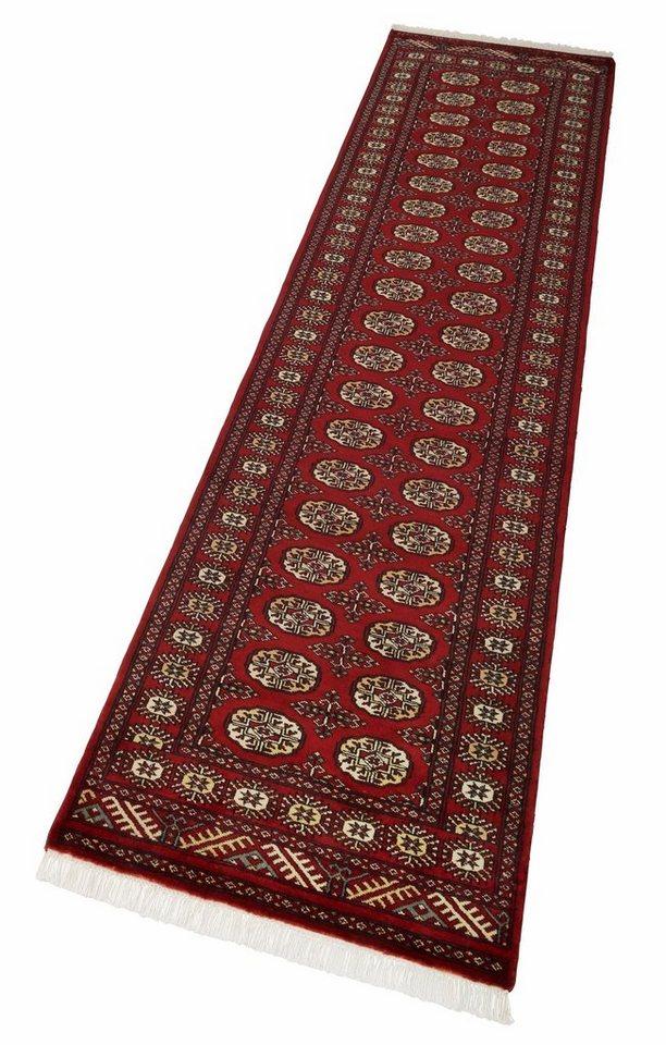 Läufer, Parwis, »Pakistan Omara Royal«, Echt Orient, handgearbeitet, Wolle in rot