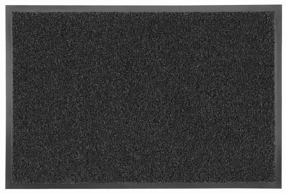 Fußmatte »Green&Clean«, Hanse Home, rechteckig, Höhe 8 mm in grau