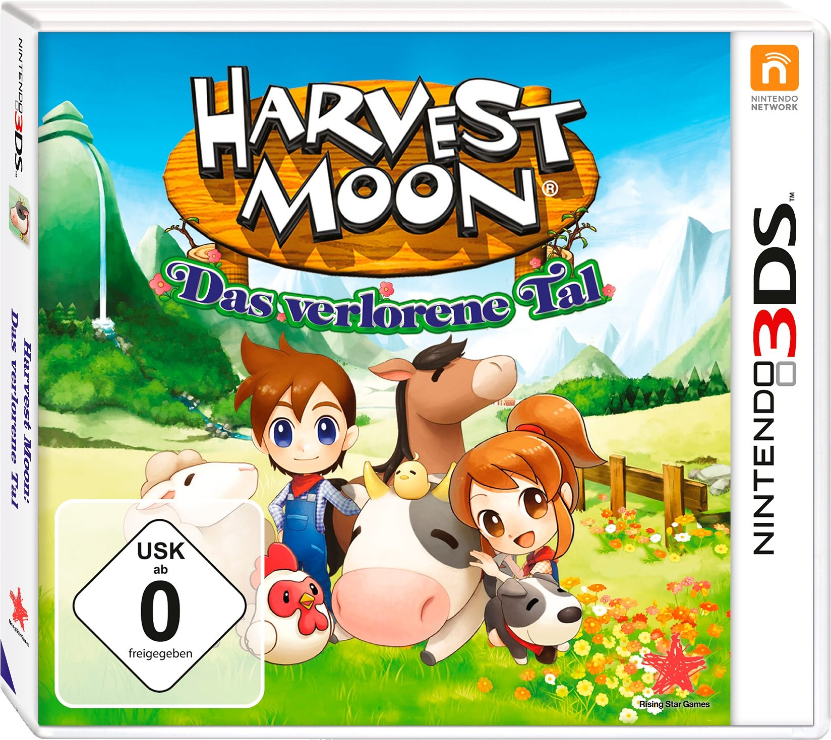 Harvest Moon: Das verlorene Tal New Nintendo 3DS