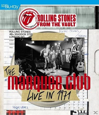 Blu-ray »From The Vault - The Marquee Club - Live in 1971«