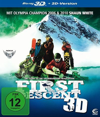 Blu-ray »First Descent (Blu-ray 3D)«