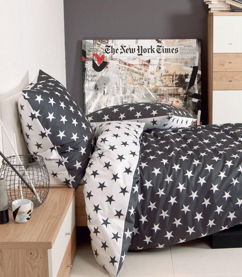 bettw sche sterne janine mit wendebettbezug otto. Black Bedroom Furniture Sets. Home Design Ideas