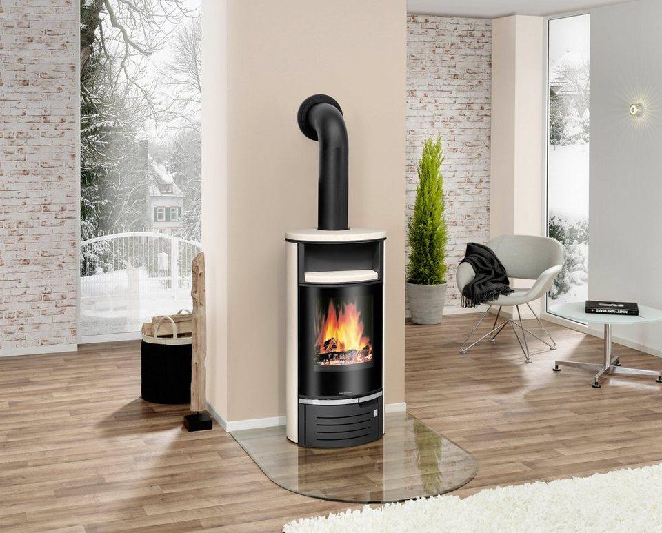 Kaminofen »Thalia 5« 5 kW, Dauerbrand in weiß