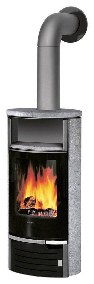 Kaminofen »Thalia 5« 5 kW, Dauerbrand in grau