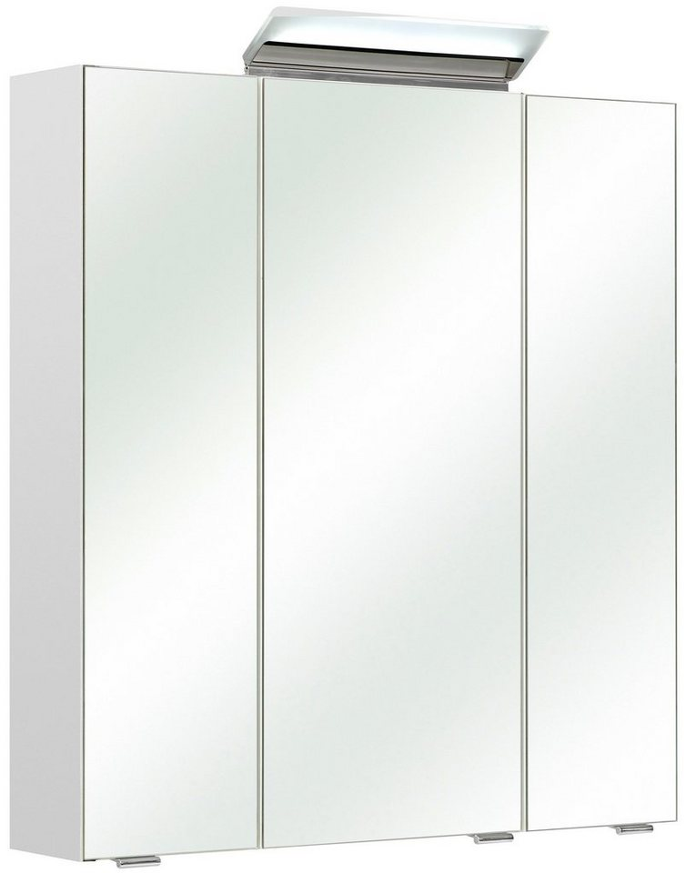 Spiegelschrank »FILO« Breite 65 cm, mit LED-Beleuchtung in weiß