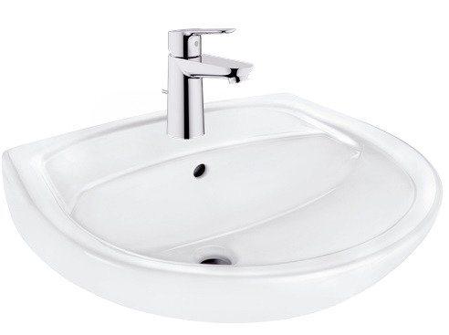 Komplett-Set: Waschbecken »Omnia Pro«, inkl. Armatur, Breite 60 cm