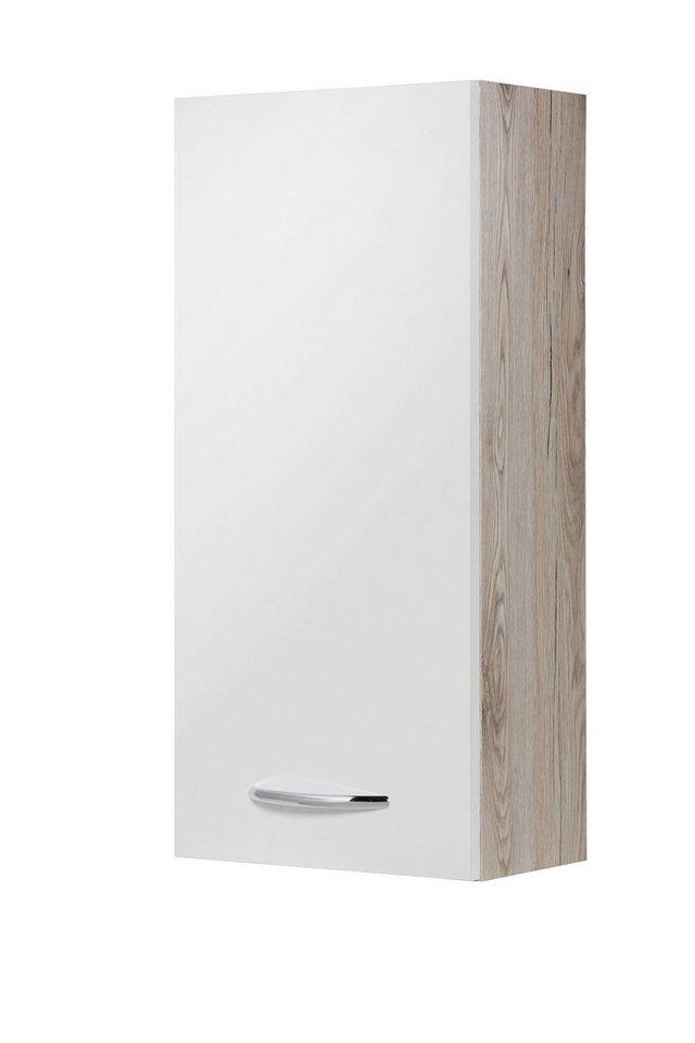 KESPER Hängeschrank »New York«, Breite 32,5 cm in eichefarben/weiß