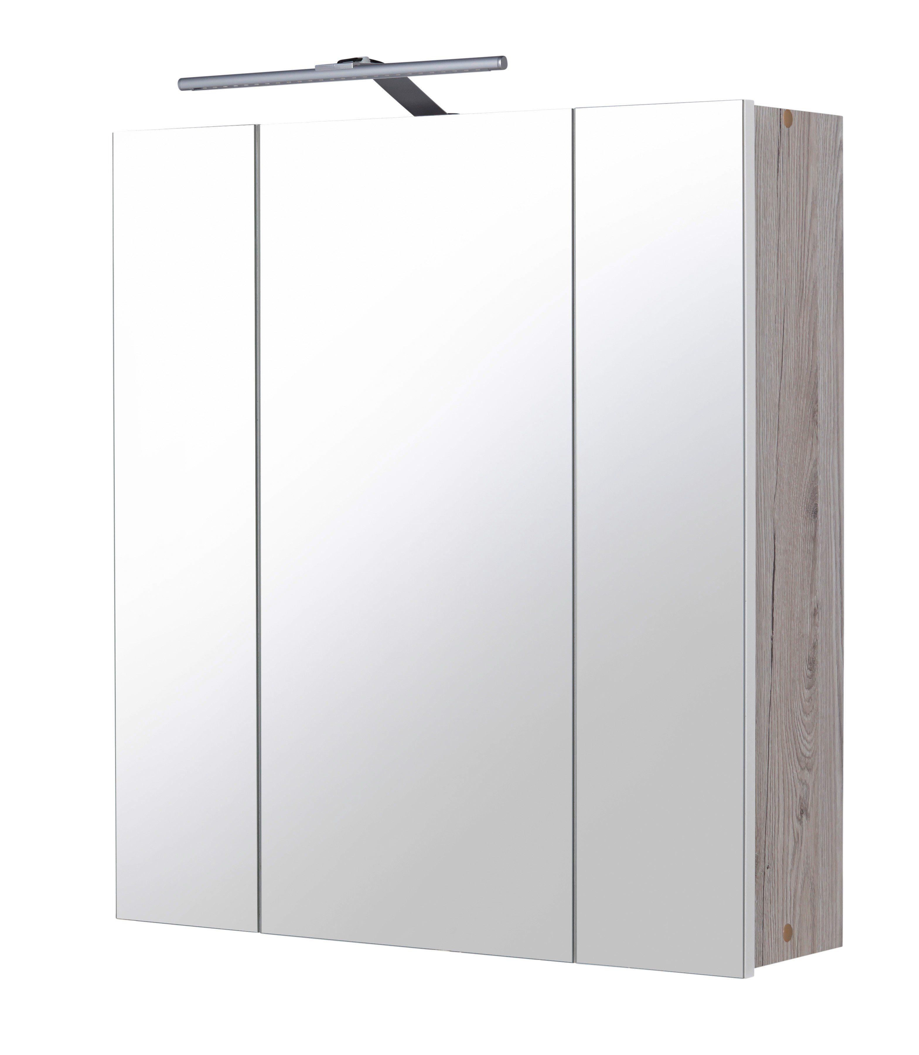 Spiegelschrank »New York« Breite 60 cm, mit LED-Beleuchtung