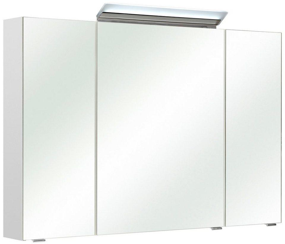 Spiegelschrank »FILO« Breite 105 cm, mit LED-Beleuchtung in weiß