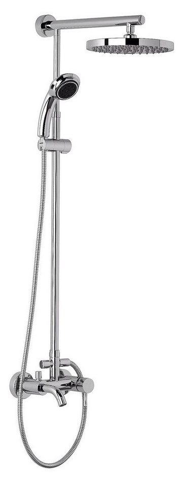 Duschsystem »Rain«, 25 cm in chromfarben