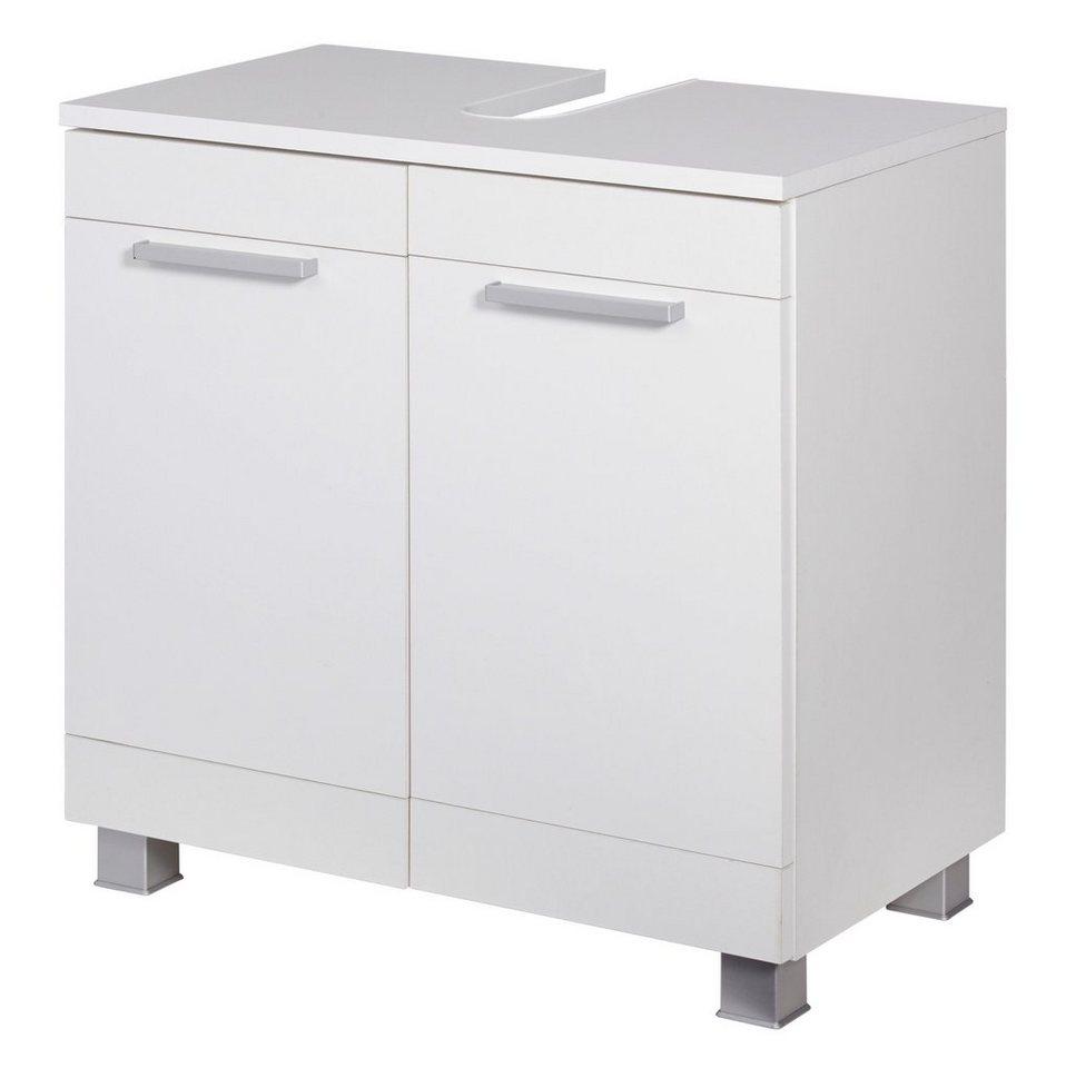 Held Möbel Waschbeckenunterschrank »Ohio«, Breite 60 cm in weiß