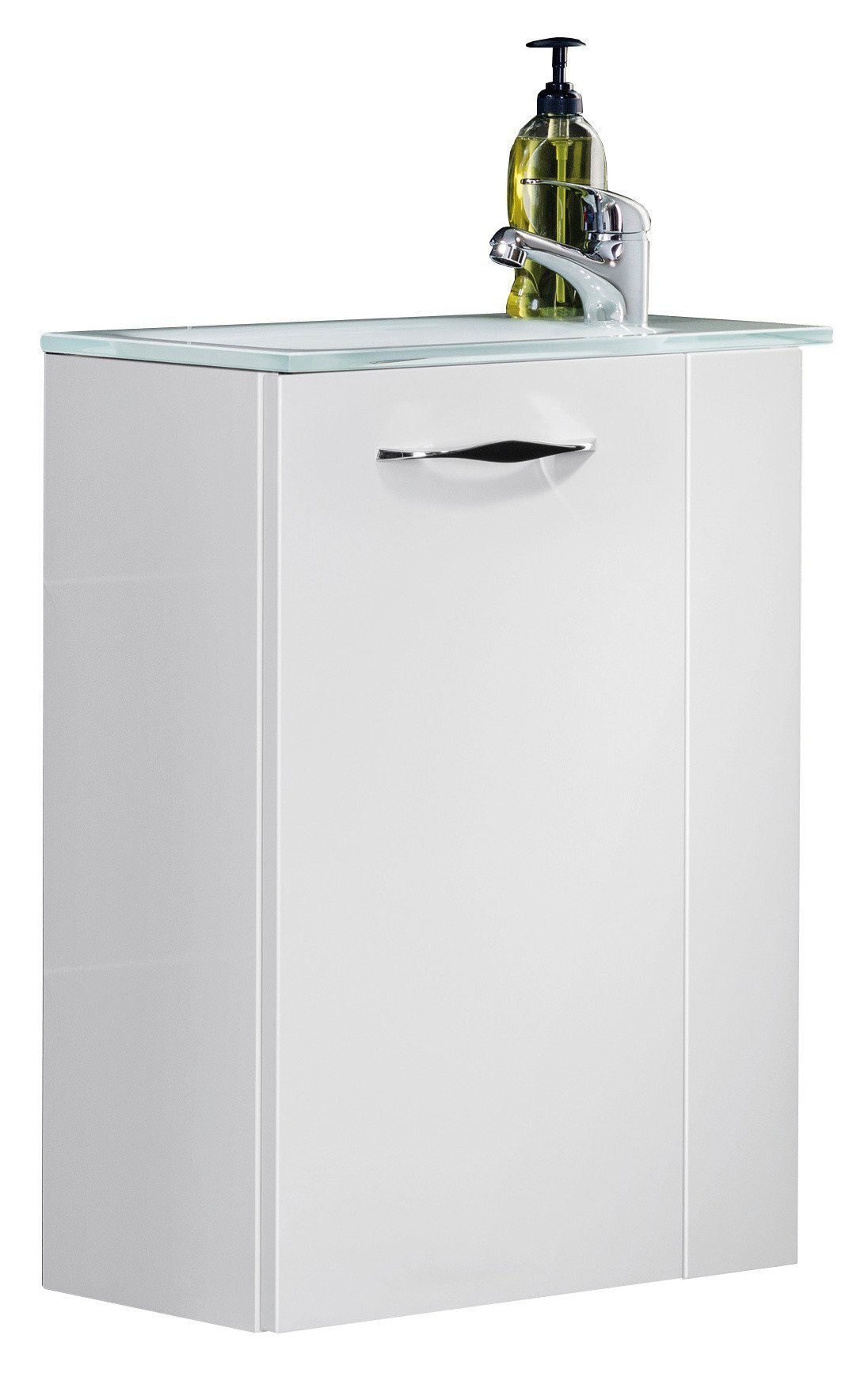 Mini-Gäste-WC-Lösung »SCENO«, Breite 45 cm, Tiefe 25 cm (2-tlg.)