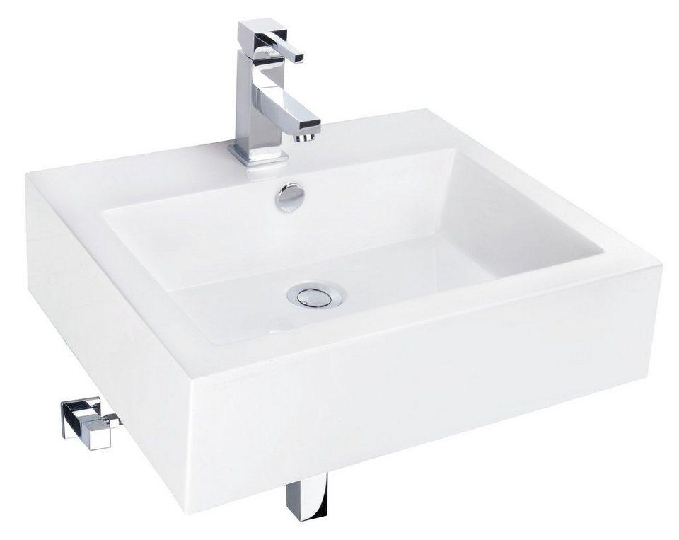 mineralgussmarmor waschtisch waschbecken fenno 55 cm online kaufen otto. Black Bedroom Furniture Sets. Home Design Ideas