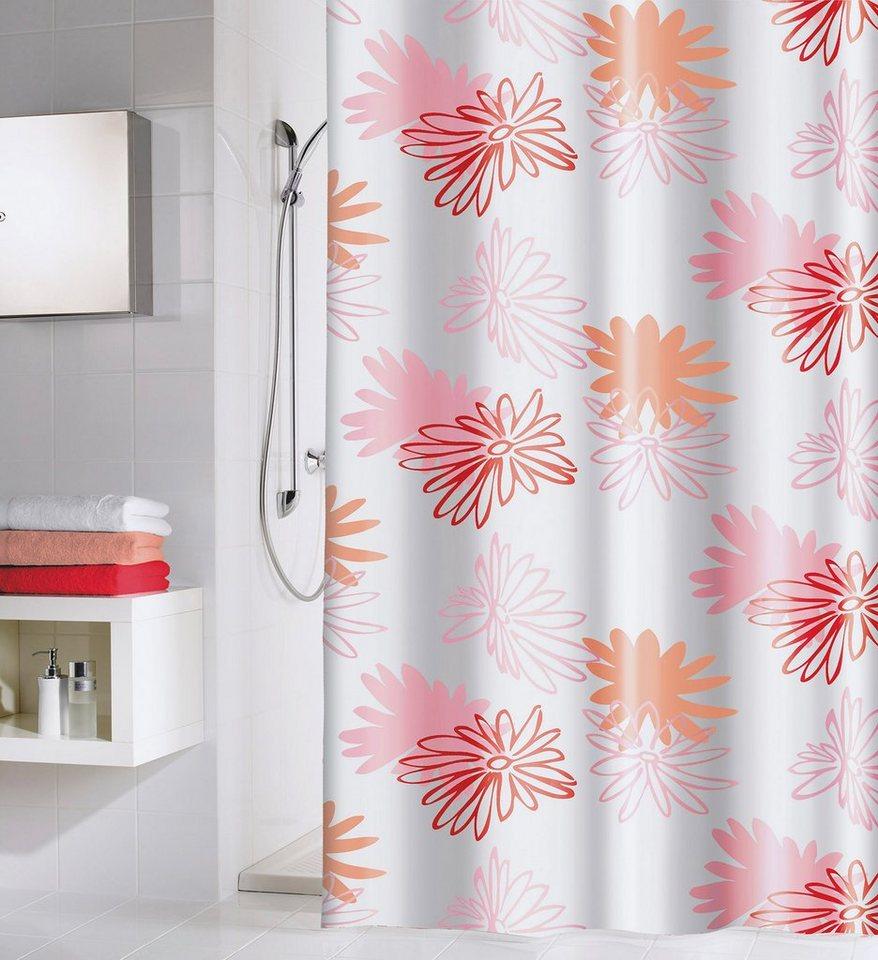 Duschvorhang »Pink Flower« in bunt