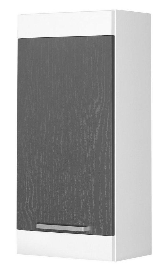 Hängeschrank »Ohio« 30 cm in graphitfarben/weiß