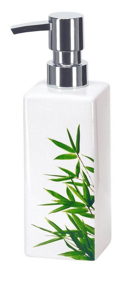 Badorganizer »Bamboo« in weiß