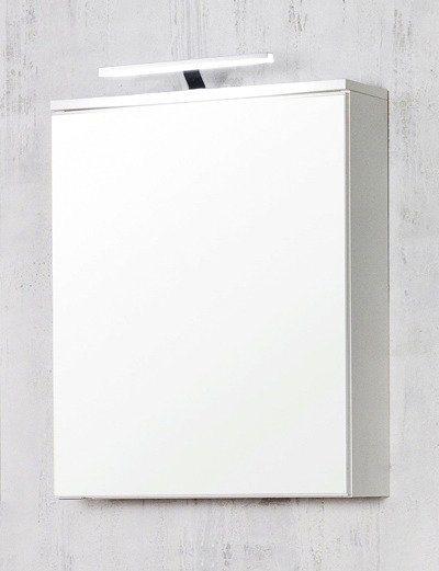 Spiegelschrank »Prato« Breite 60 cm, mit Beleuchtung in weiß