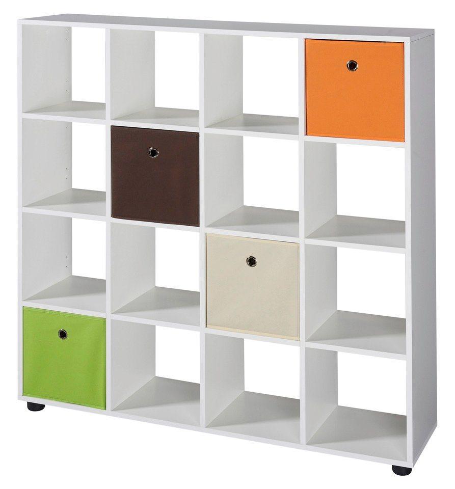 raumteiler regal benas 4x4 f cher online kaufen otto. Black Bedroom Furniture Sets. Home Design Ideas