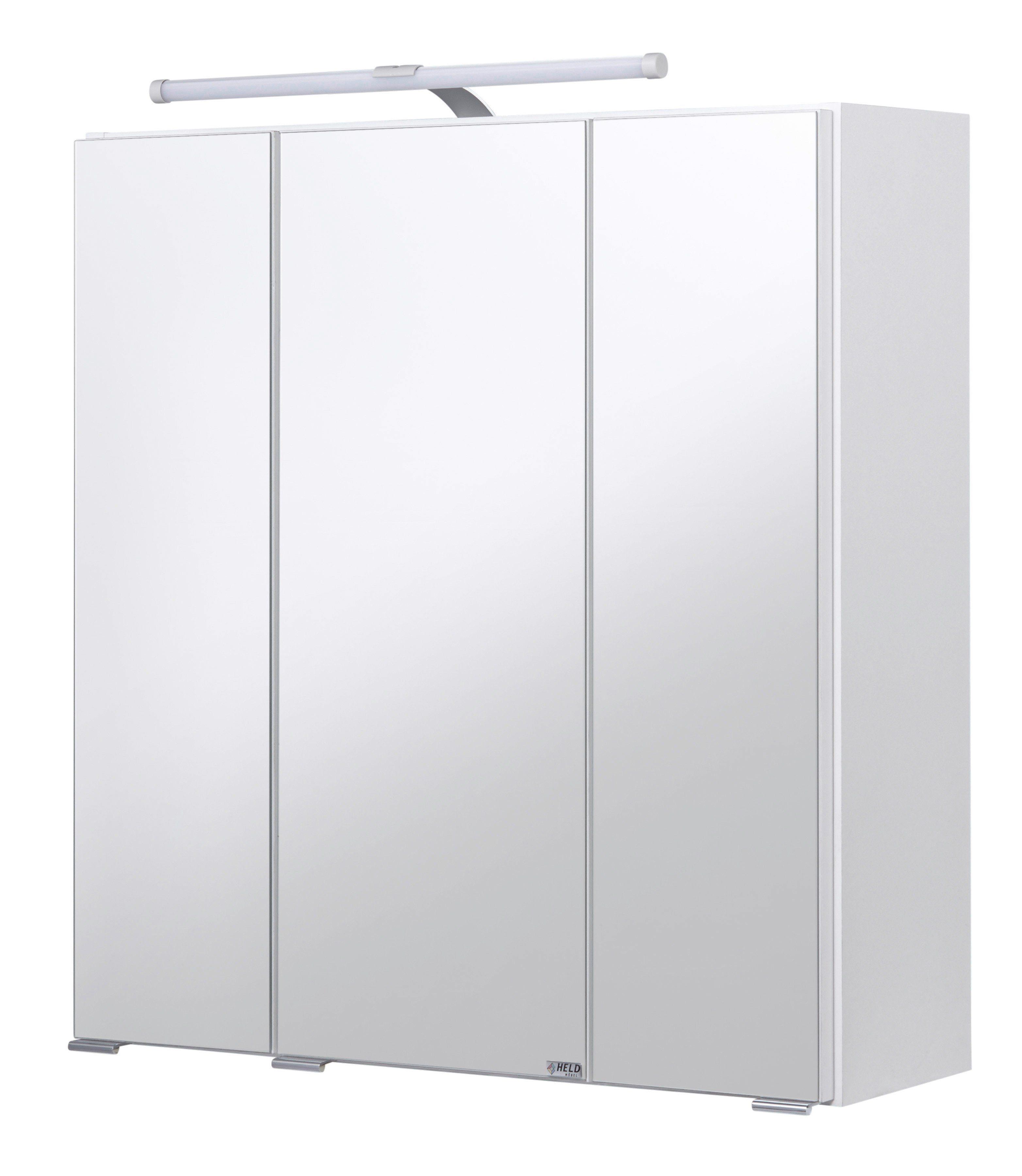 Held Möbel Spiegelschrank »Jaca« Breite 60 cm, mit LED-Beleuchtung