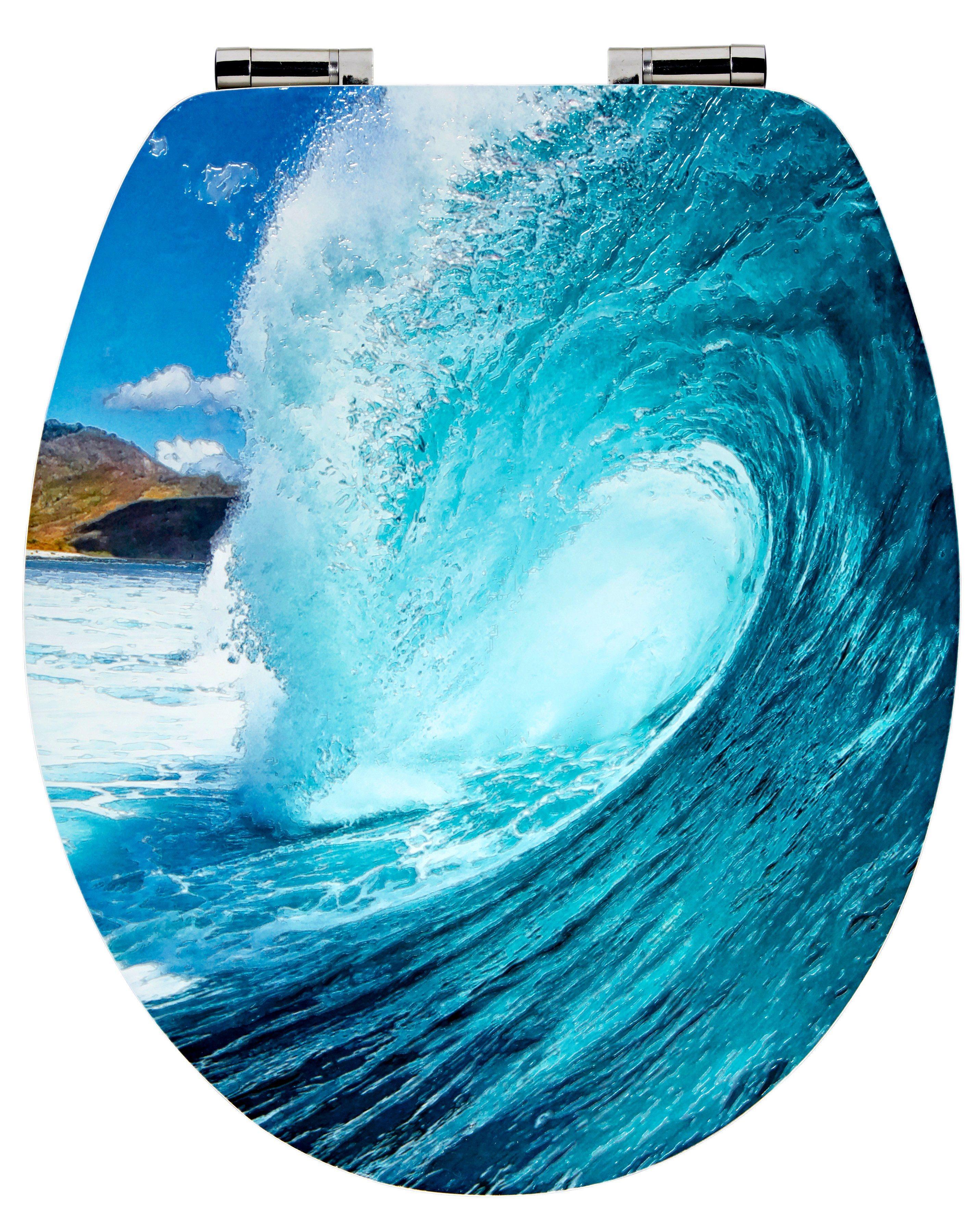 WC-Sitz »Wave«, Mit Absenkautomatik