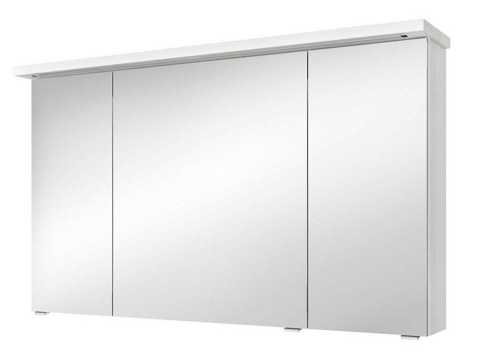 Pelipal Spiegelschrank »Solitaire 7020« Breite 120 cm, mit LED-Beleuchtung in weiß