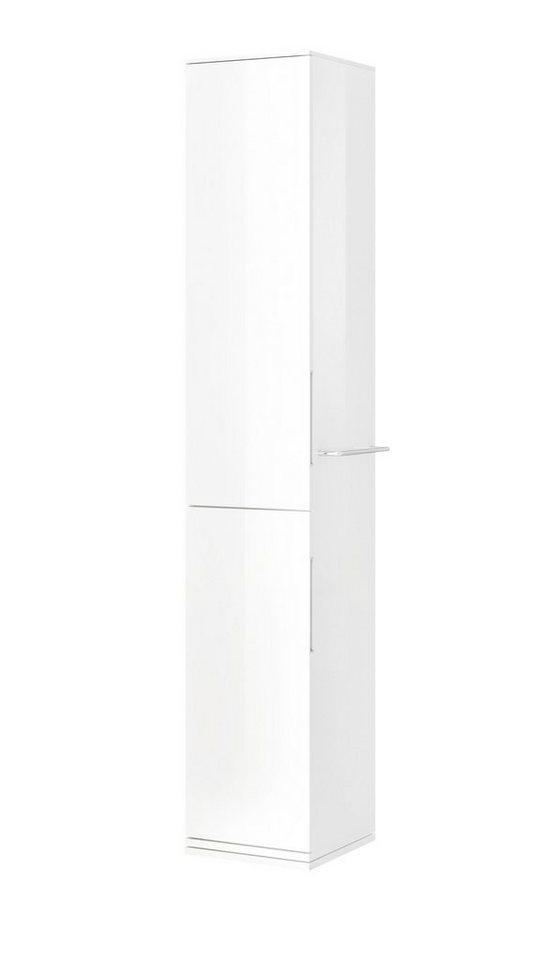 Hochschrank, Breite 30,2 cm in weiß