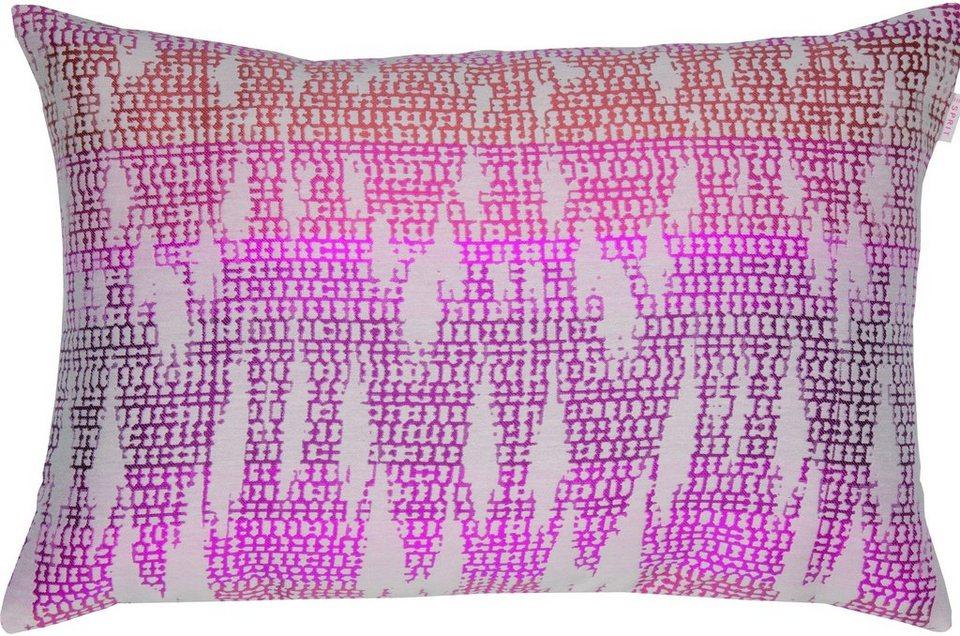 Kissenhülle, Esprit, »Jazzy« (1 Stück) in pink
