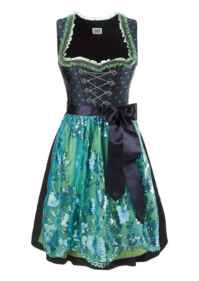 Dirndl, Country Line in marine