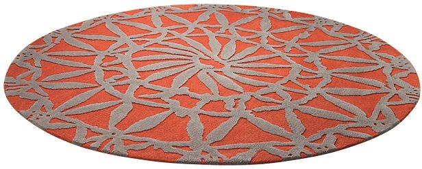 Teppich, Esprit, »Oriental Lounge«, handgearbeitet in orange-taupe